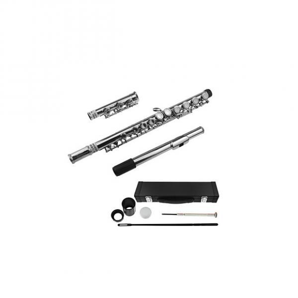 Custom 16 Holes Flutes Yoosion C Flutes Closed Nickel Silver Master Design Transverse Flute with Flute Clea #1 image