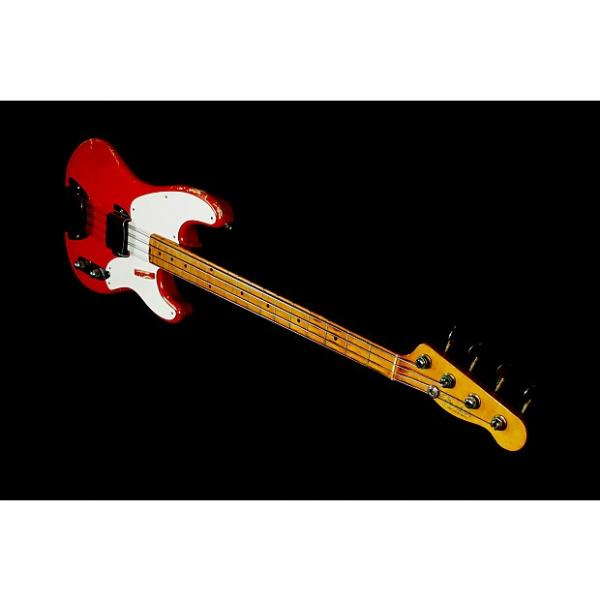 Custom Fender Precision Bass 1955 Fullerton Red.  One of a kind.  RARE. ORIGINAL. Owned by Aspen Pittman. #1 image