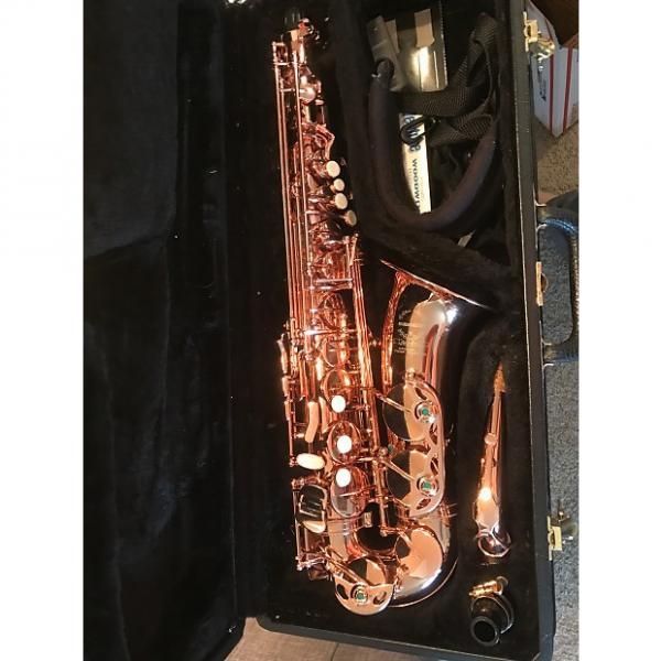 Custom Milwaukee Special Edition Copper Alto Saxophone #1 image