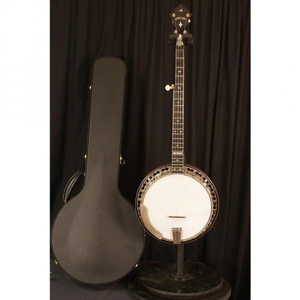 Custom New Floor Model Stelling Superstar 5 string flathead banjo all original with Guardian hardshell case #1 image