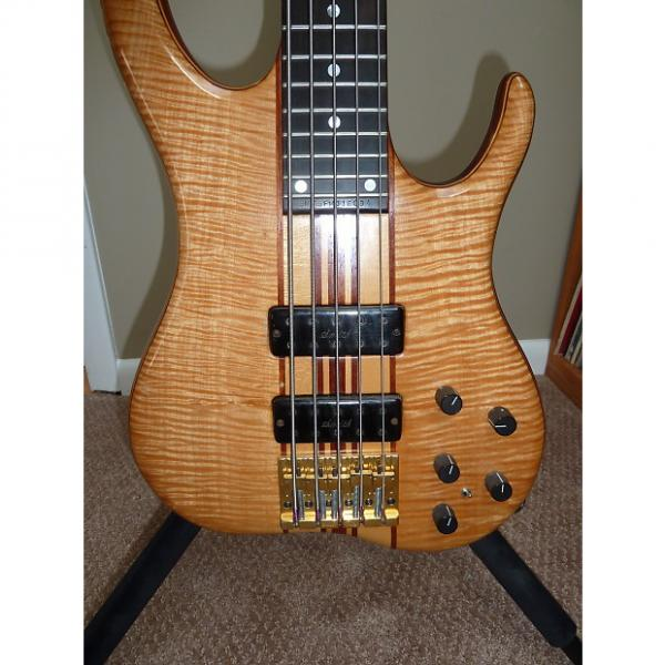 Custom Ken Smith BMT Elite FM 5 String  1994 Flamed Maple ALL REASONABLE OFFERS CONSIDERED! #1 image
