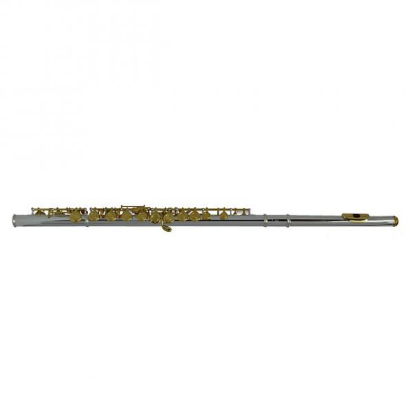 Custom Schiller 200 Series Flute - Silver Plated with Gold Keys #1 image