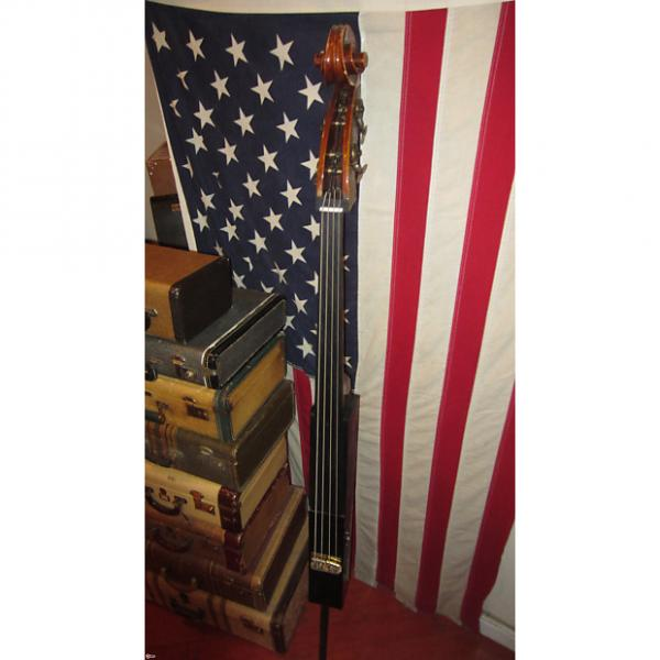 Custom Circa 1960 Gino in Brooklyn Electric Upright Bass #1 image