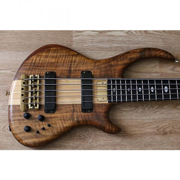 Custom Very Rare Alembic Rogue 5-string 1996 Natural #1 image