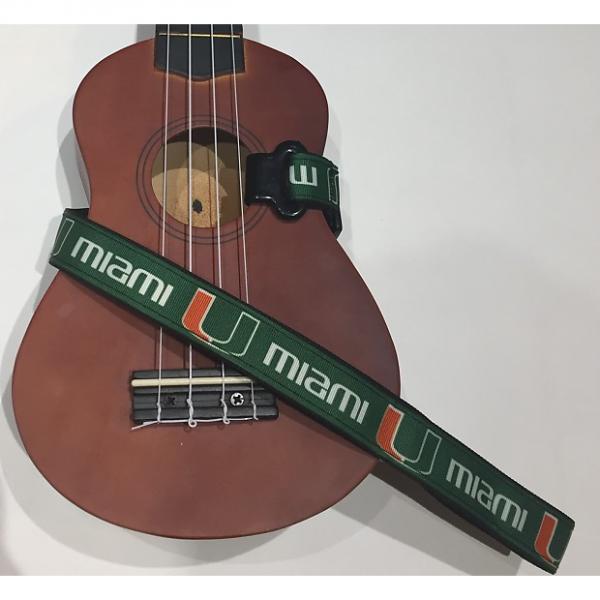 Custom Miami Hurricane Ukulele Strap #1 image