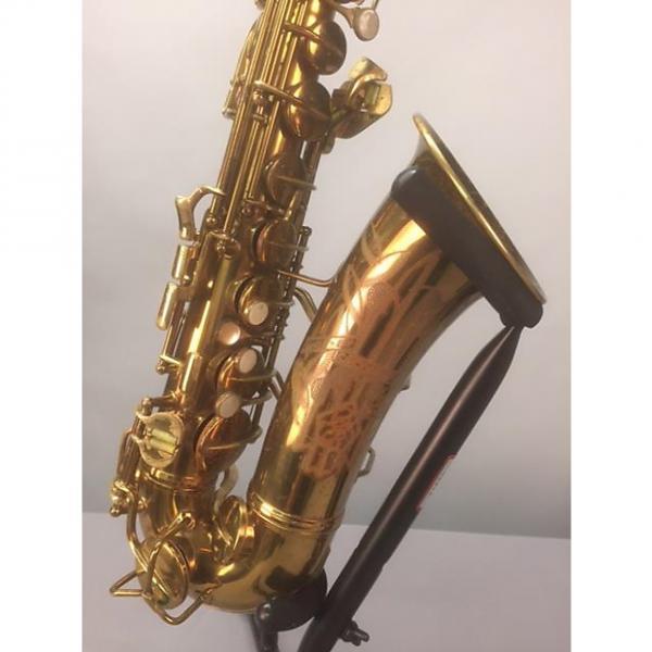 "Custom Conn Artist ""Naked Lady"" 6M Vintage 1946 Alto Saxophone #1 image"