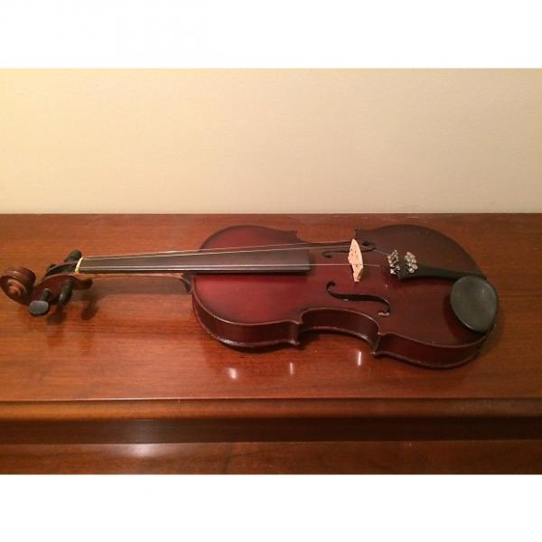 Custom Vintage German Stradivarius Copy 4/4 Violin With Bow And Case Vintage German Stradivarius Copy 4/4 Violin With Bow And Case #1 image