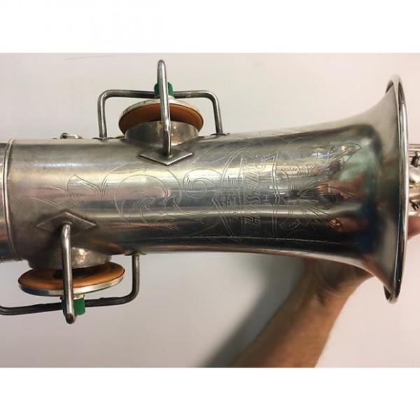 Custom Buescher True Tone Alto Saxophone  Silver #1 image