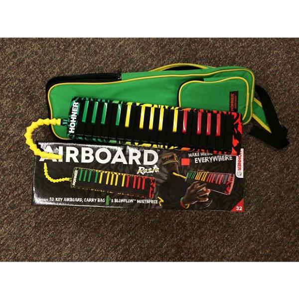 Custom Hohner Airboard 32 Key Melodica Rasta #1 image