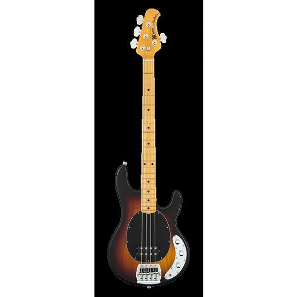Custom Ernie Ball MusicMan Music Man Stingray Classic 4 String Bass Guitar Sunburst #1 image