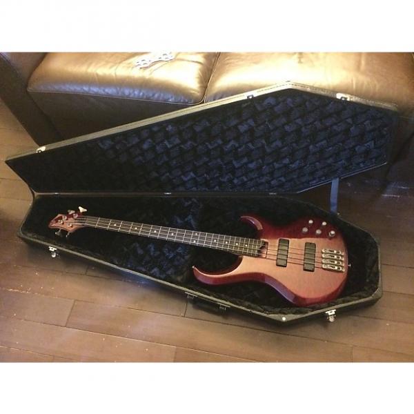 Custom Ibanez BTB 4 String bass w/coffin case #1 image
