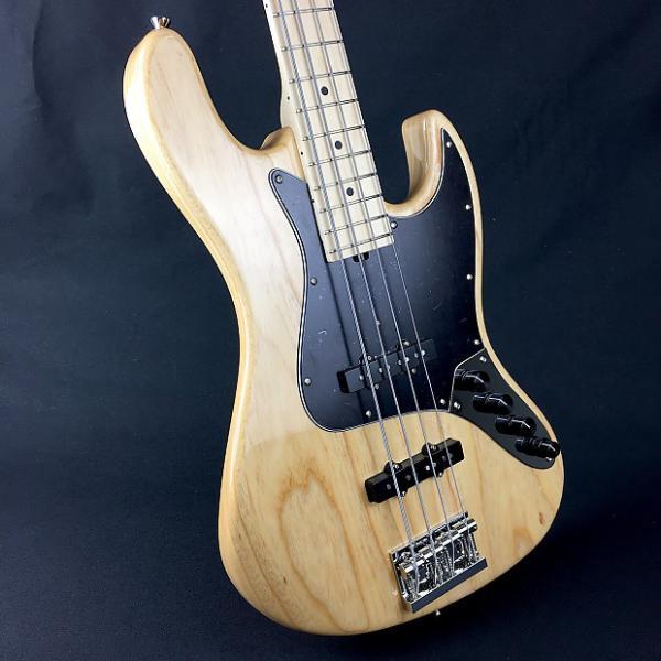 Custom Sadowsky MetroLine MV4 Bass - 2017 - Natural Ash/Maple Fretboard #1 image