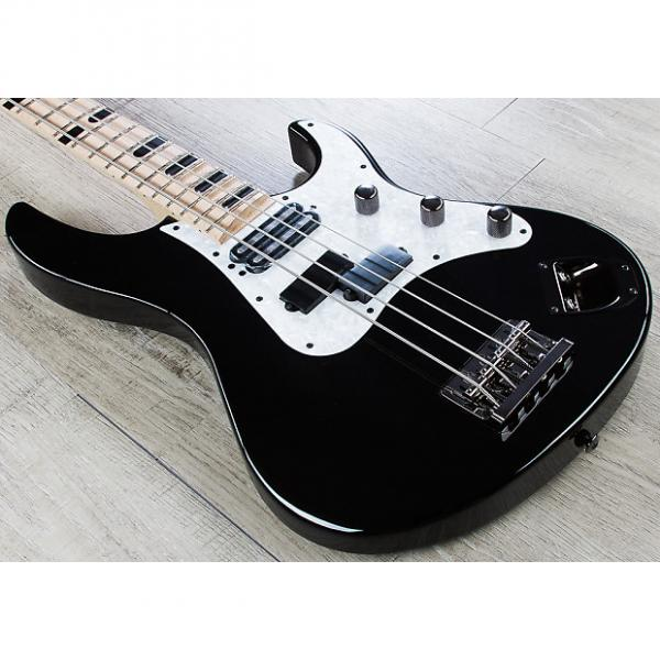 Custom Yamaha Attitude Limited 3 Billy Sheehan Signature Electric Bass Black + Case #1 image