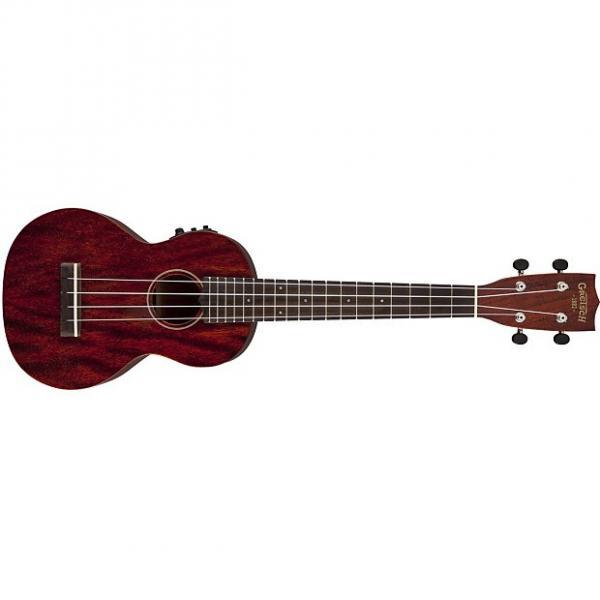 Custom NEW! Gretsch G9110-L Concert Long Neck acoustic electric ukulele #1 image