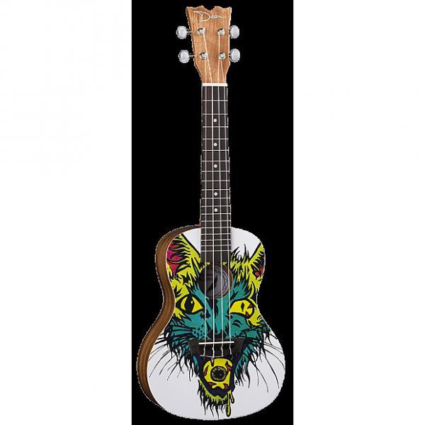 Custom Dean Guitars Cat's Eye Concert Ukulele, UKE DC CATEYE #1 image
