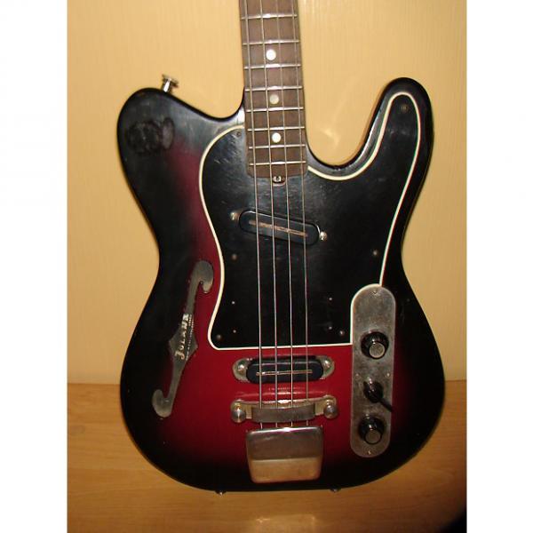 Custom Jolana Iris Bass Guitar 1960 Vintage #1 image