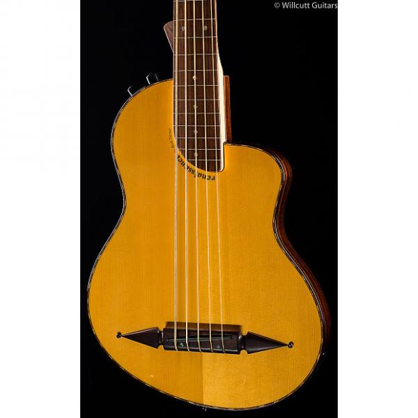 Custom Rick Turner Renaissance RB-5 Bass Standard Natural Fretless (255) #1 image