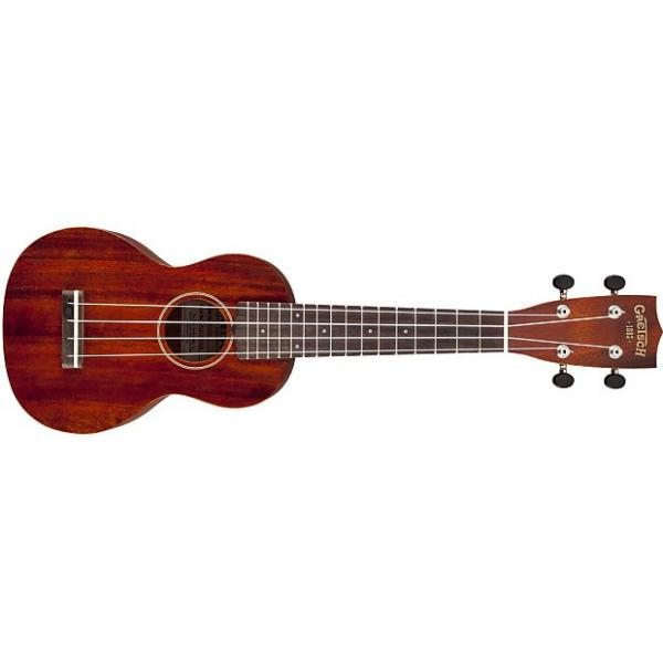 Custom NEW! Gretsch G9100 Soprano Standard ukulele in mahogany stain finish #1 image