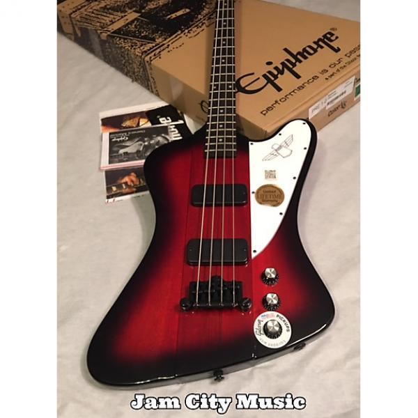 Custom Epiphone T-Bird Classic IV Thunderbird Pro 4 Electric Bass Guitar By Gibson #1 image