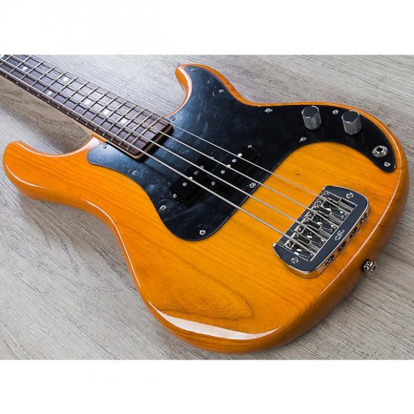 Custom G&L USA LB-100 Electric Bass Guitar Rosewood Fingerboard Honeyburst + Hard Case #1 image