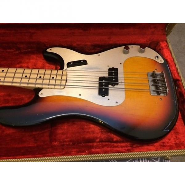 Custom Fender Precision Bass 1958 American Reissue Relic #1 image