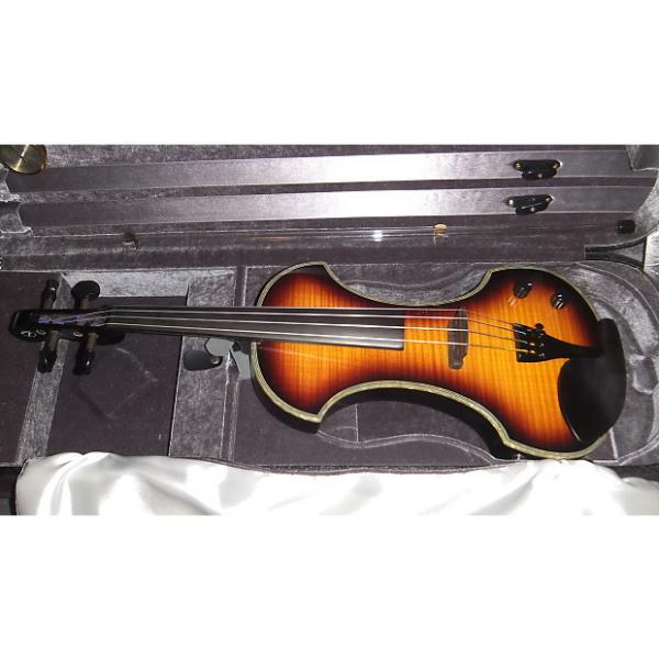 Custom Fender FV-3 Electric Violin Fiddle FV3 Mint #1 image