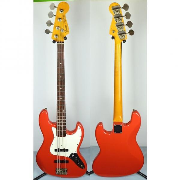 Custom Fender '62 Reissue Jazz Bass MIJ 1993 Fiesta Red #1 image