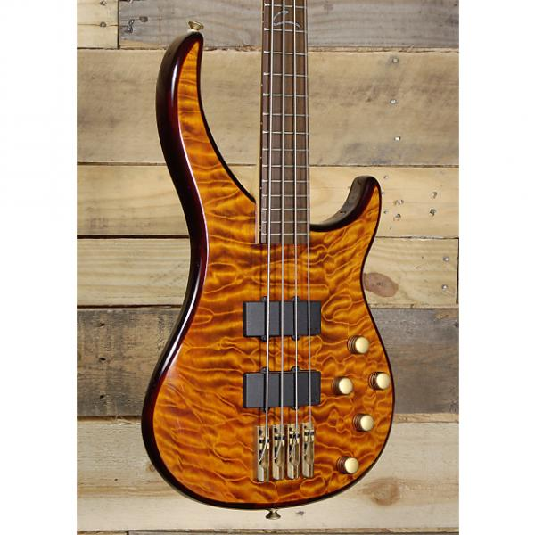 Custom Peavey Cirrus BXP 4 String Electric Bass Tiger Eye Maple w/ Case #1 image