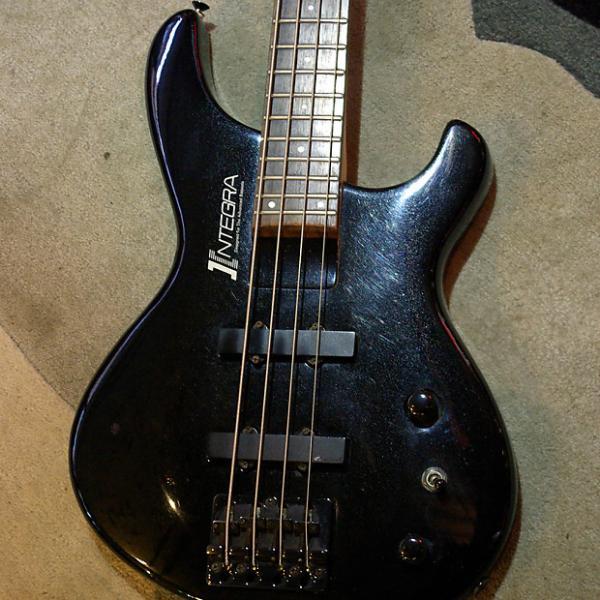 Custom Aria Pro II Integra Late 80's/Early 90's Bass in Black Finish #1 image
