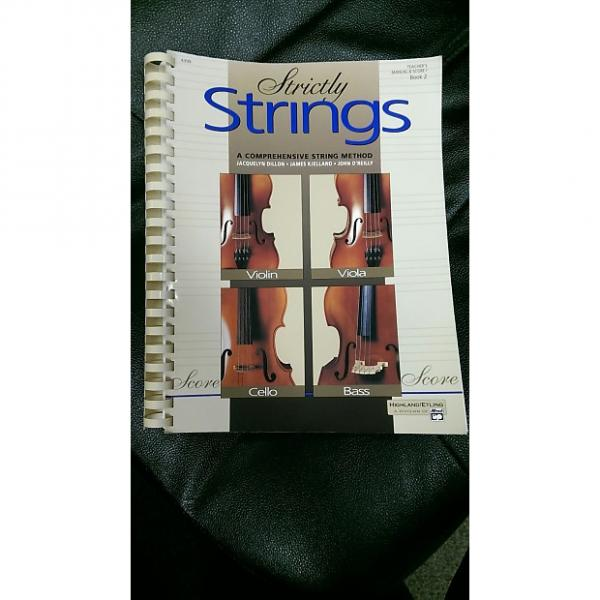 Custom Strictly Strings Teacher Manual Book 2   Manuel & Score #1 image