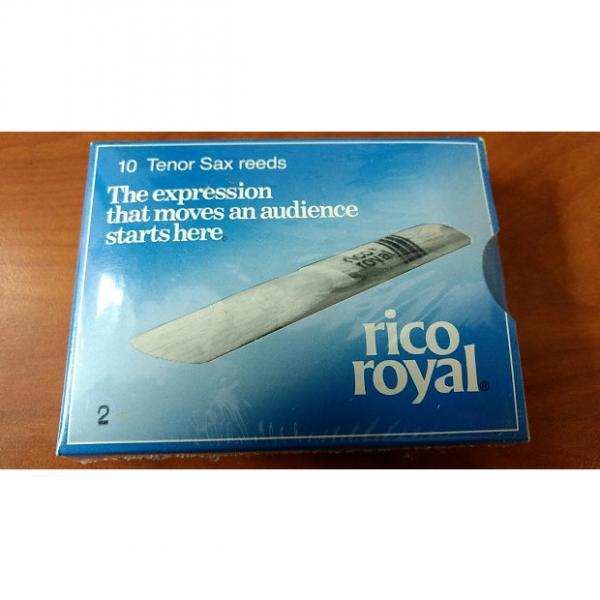Custom Rico Royal #2 Tenor Saxophone Reeds #1 image