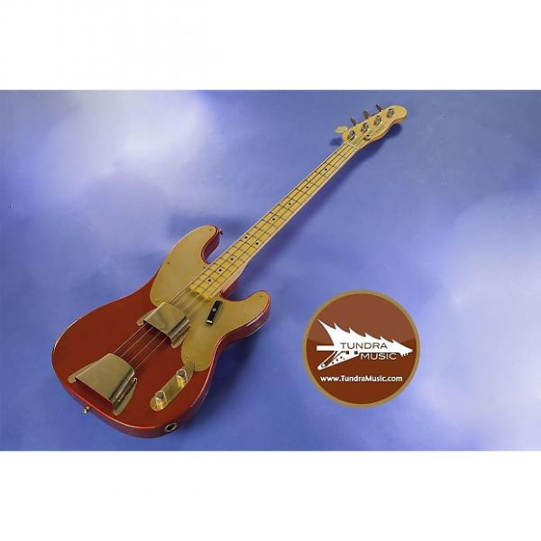 Custom Fender Custom Shop 1951 Relic Precision Bass - Melon Candy - XN3110 #1 image