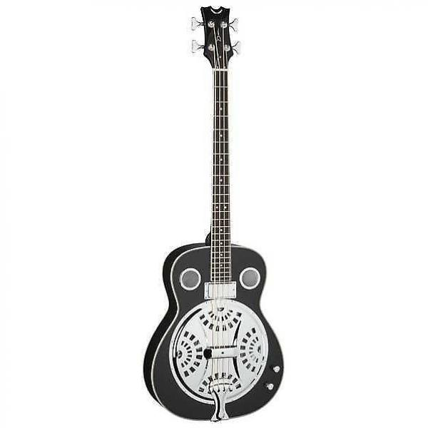 Custom Dean Resonator Acoustic/Electric Bass - CBK #1 image