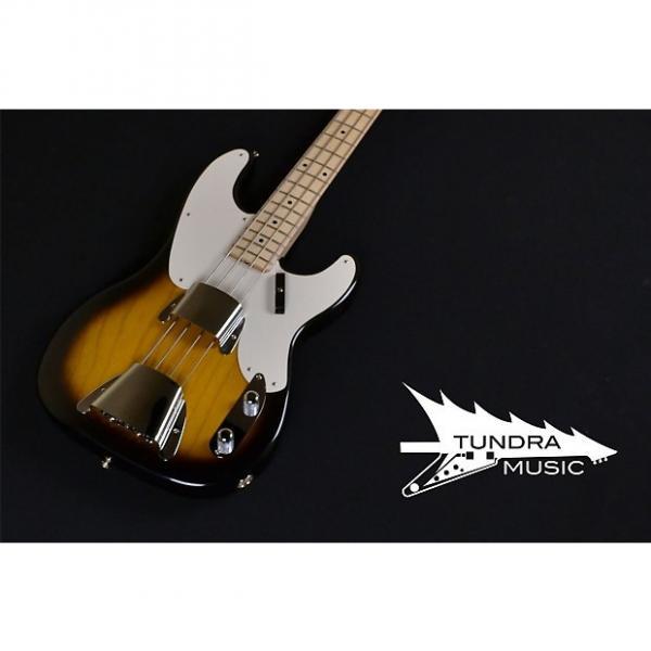 Custom Fender Custom Shop 1955 Precision Bass NOS - 2-Tone Sunburst #1 image