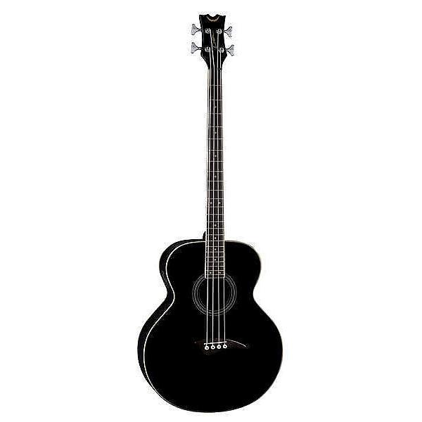Custom Dean Acoustic/Electric Bass - Classic Black #1 image
