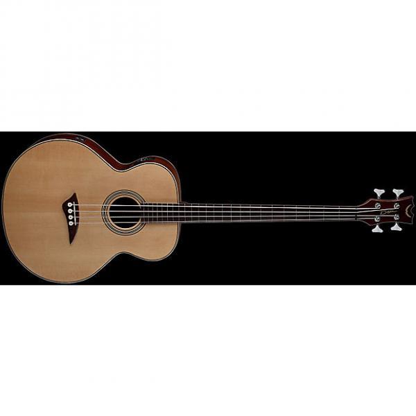 Custom Dean Acoustic/Electric Bass Fretless - GN #1 image