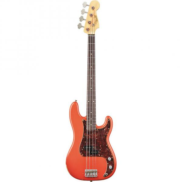 Custom Fender Custom Shop Pino Palladino Signature Precision Bass Fiesta Red (0158200840) #1 image