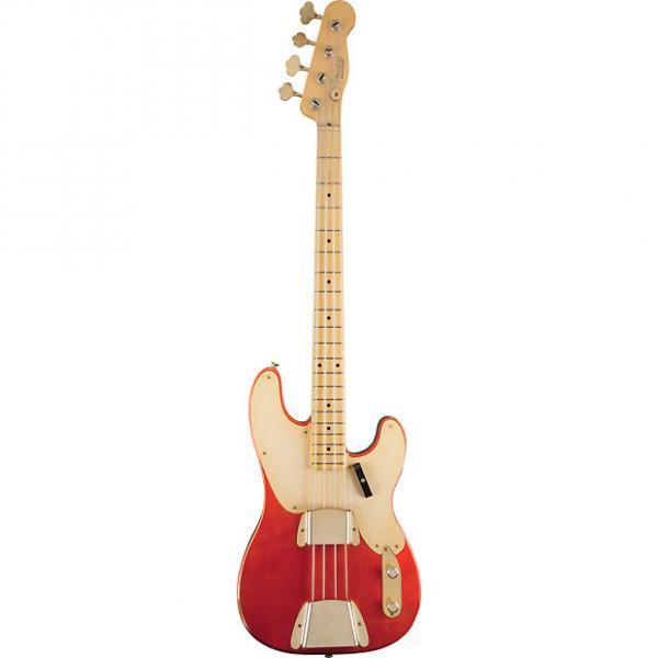 Custom Fender Custom Shop 1951 Relic Precision Bass Melon Candy 1502202810 #1 image