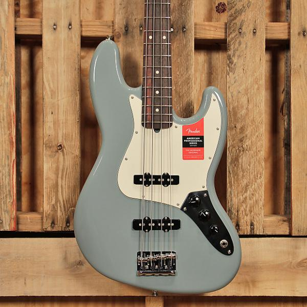 Custom Fender American Professional Jazz Bass Sonic Gray #1 image