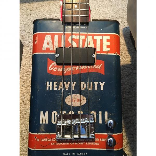 Custom Hayburner Vintage Oil Can Bass Guitar #1 image
