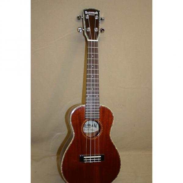 Custom Bushman Jenny solid mahogany ukulele 2016 #1 image