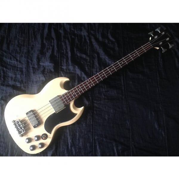 Custom 1988 Greco Japan EG650 EB-3 Copy Vintage White #1 image