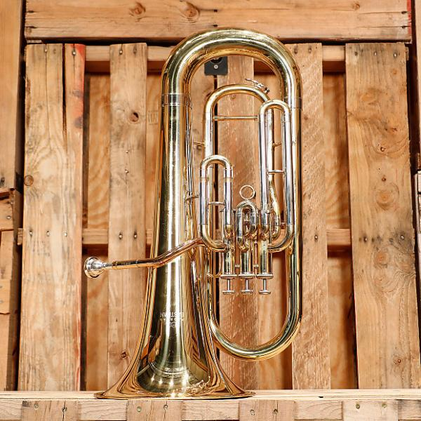 Custom Eastman EEP321 Euphonium Outfit *Rental Inventory Closeout* 2010's Brass Lacquer #1 image