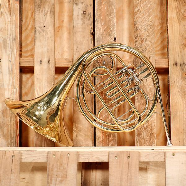 Custom Conn 14D Single French Horn Outfit *Rental Inventory Closeout* 2010's Brass Lacquer #1 image