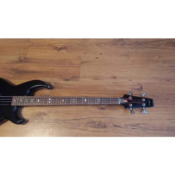 Custom Aria Pro II SB Black n Gold I 1982 Black & Gold new Edwards strings #1 image