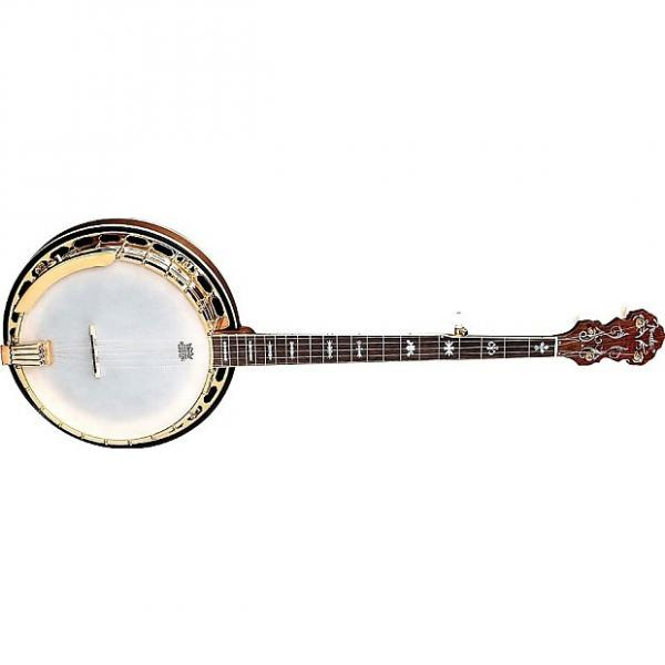 Custom Fender FB-59 Resonator 5 String Banjo  Walnut & Gold  w/Fender Hardshell Case #1 image