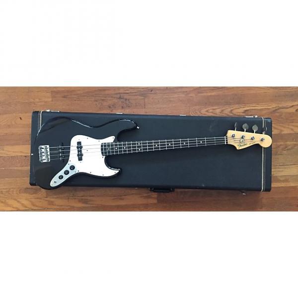 Custom Fender Jazz Bass 1984-1987 Black MIJ Made in Japan Fugi-jen #1 image