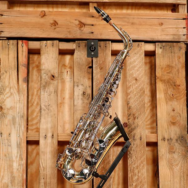 Custom Yamaha YAS-23 Alto Saxophone Outfit *Rental Inventory Closeout* 2010's Brass Lacquer #1 image