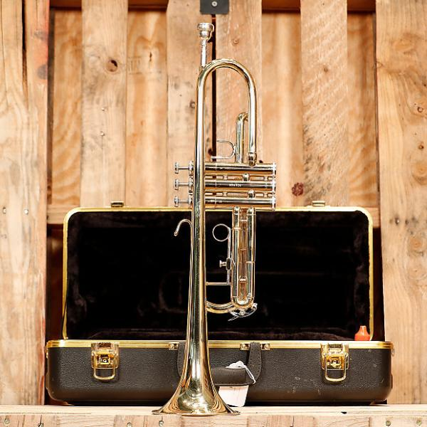 Custom Bach TR300H2 Student Trumpet Outfit *Rental Inventory Closeout* 2010's Brass Lacquer #1 image