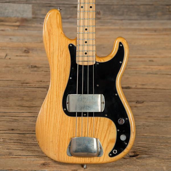Custom Fender Precision Bass MN Natural 1978 (s649) #1 image